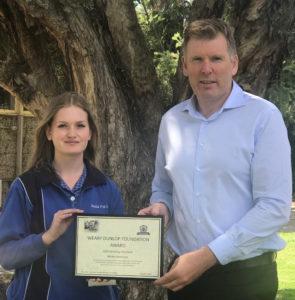 Weary Dunlop Foundation Award #1